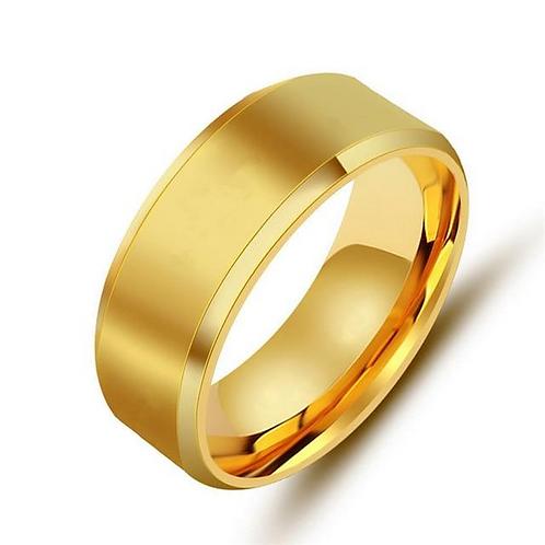 ''GOLD ICE'' RING