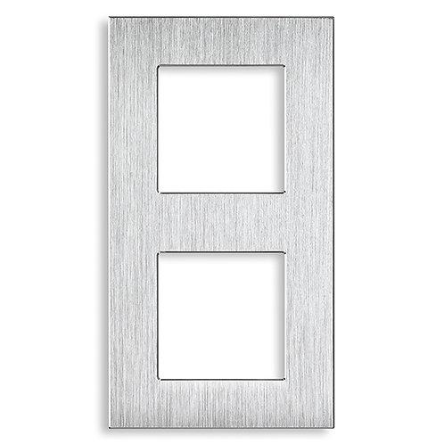 2 gang silver-157