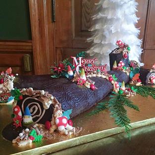 Yule Log Display