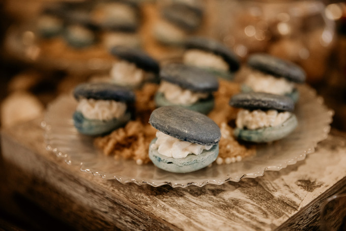 Nautical Themed Macaróns
