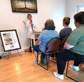 CBD workshop at Pellegrino Healing Center