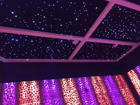 Pellegrino Healing Center salt cave starry ceiling