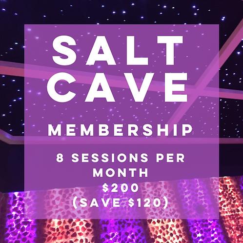 Salt Cave 1 Month Membership 8 Sessions per month