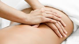 Manual lyphatic drainage massage