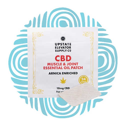 CBD Muscle & Joint Essential Oil Patch 10mg