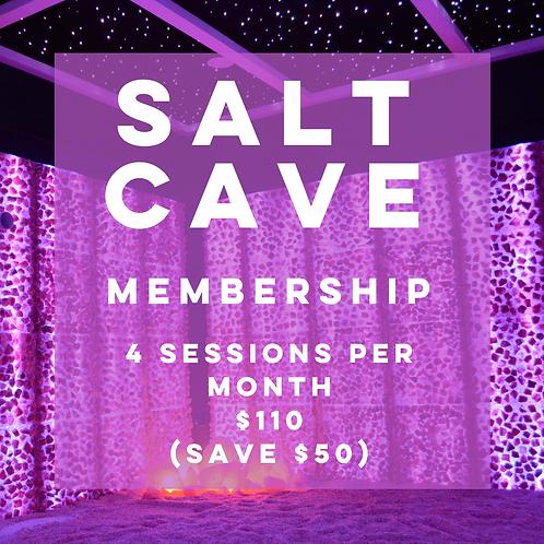Salt Cave 1 Month Membership 4 Sessions per month