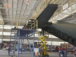 C-130 Tail Work