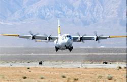 C-130 Test Flight