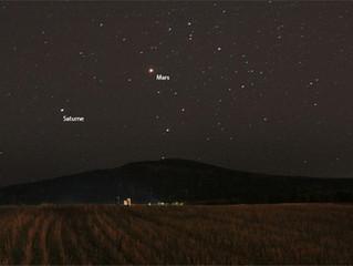 Planètes visibles dans le ciel actuellement