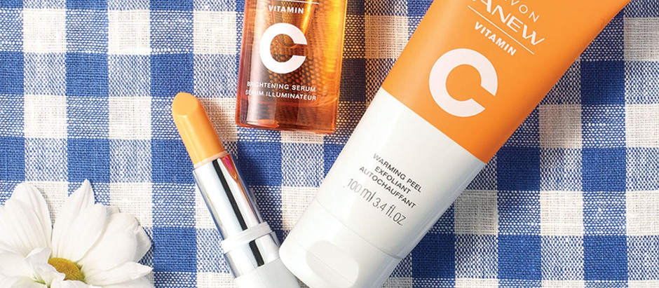 Hello Sunshine! Brighten with Vitamin C!