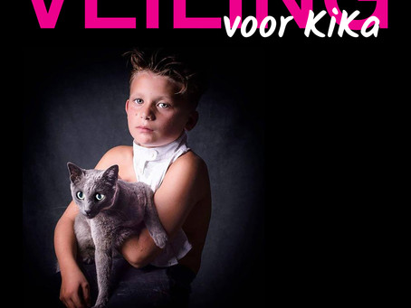 Violetta Riedel Photography biedt portret ter veiling aan voor KiKa