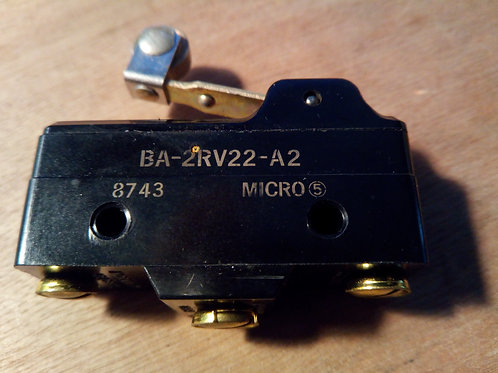 Microswitch Roller Lever 20A - BA-2RV22-A2