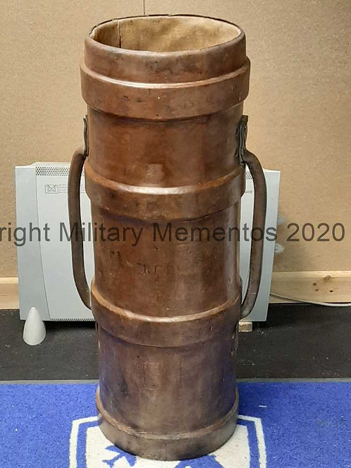 WW2 Royal Navy Cordite Bucket - Clarkson's Case Double Handle