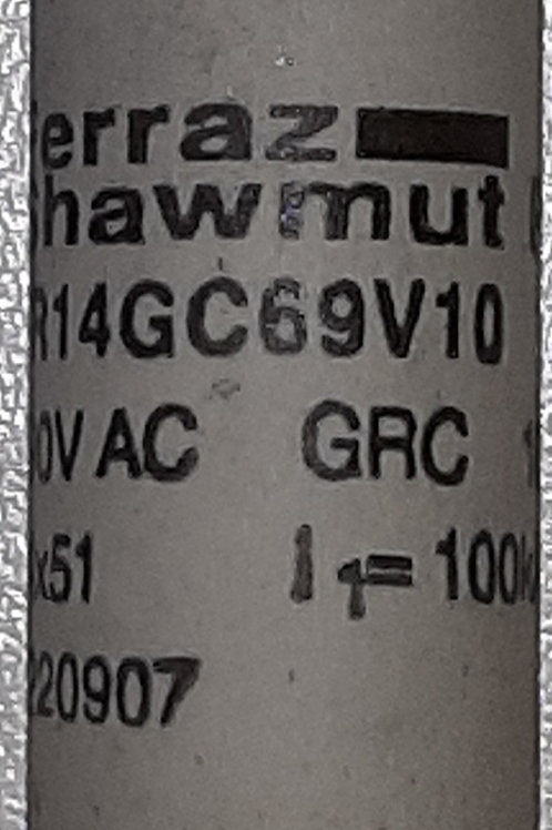 10A Fast Acting GRC Fuse