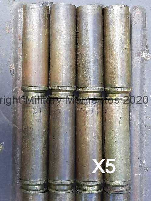 30 X 113mm ADEN - British - Aircraft Cannon - Brass Cartridge