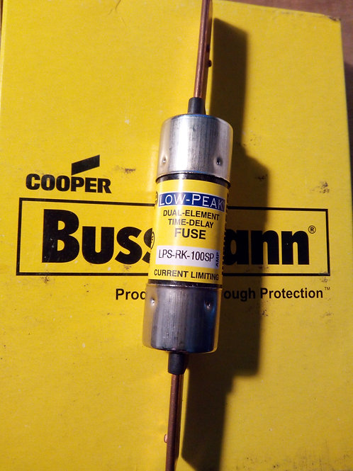 Cooper Bussmann LPS-RK-100SP Low-Peak Dual Element Time Delay Fuse