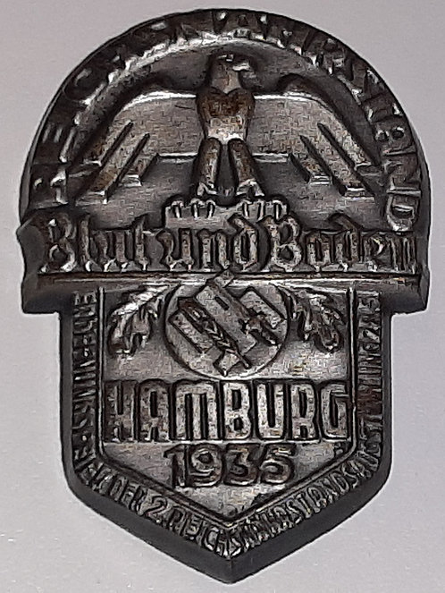 Pre WW2 German 1935 Reichsnährstand Exhibition Badge