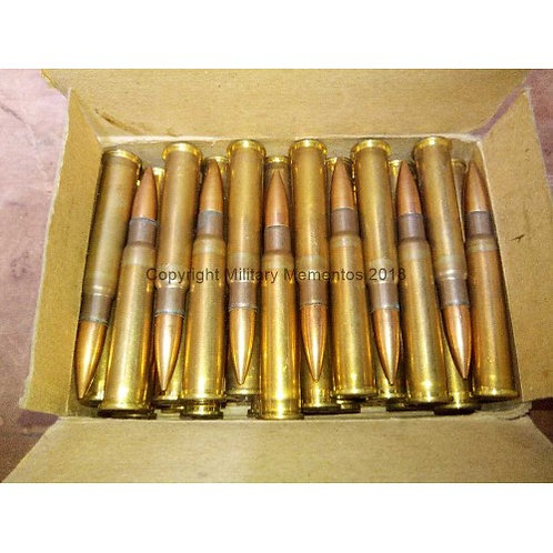 .303 MKVII Rounds - Greek manufacture - Fired Condition