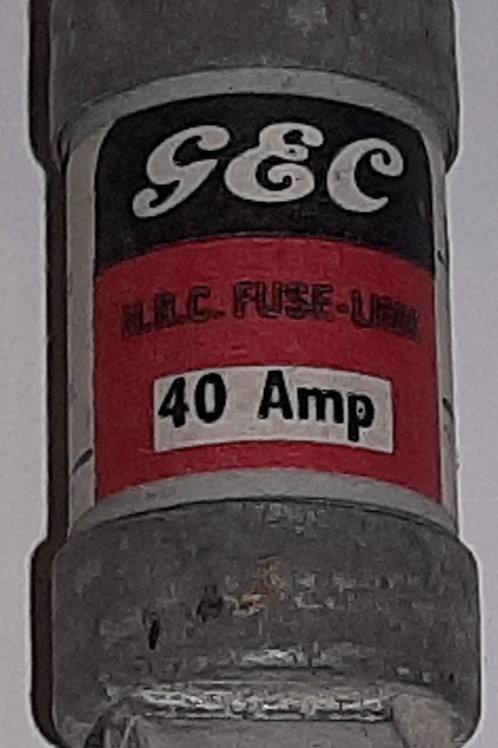 GEC ES 40A Fuse