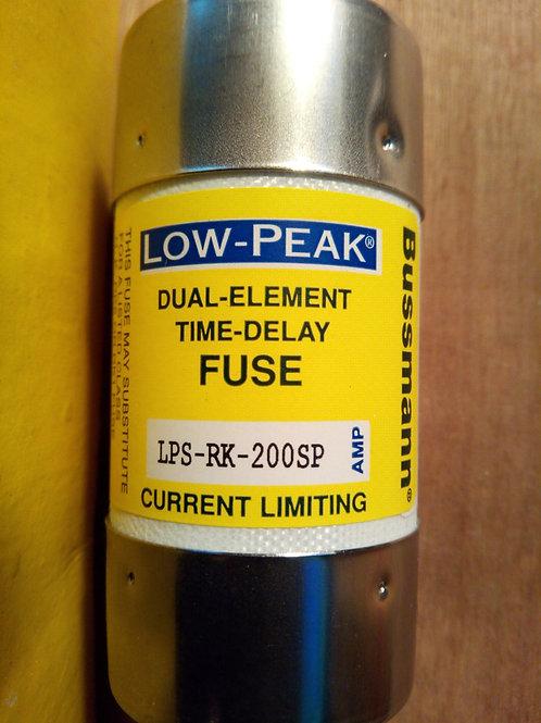 Cooper Bussmann LPS-RK-200SP Low-Peak Dual Element Time Delay Fuse