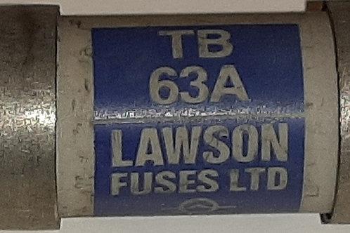 Lawson TB63A 63A HRC Fuse