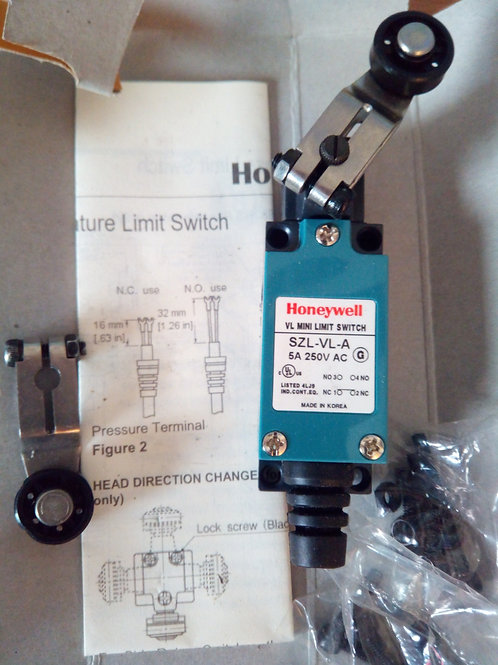 HONEYWELL SLZ-VL-A Mini Roller Lever Switch 250V AC 5A
