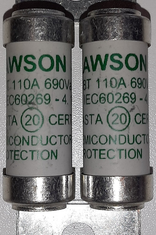 Lawson LSCBT110  110A Semiconductor Fuse