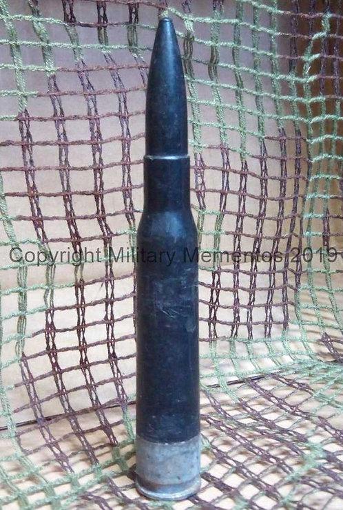 12.7 x 108mm - Post WW2 - Soviet - Drill Ammunition - Plastic