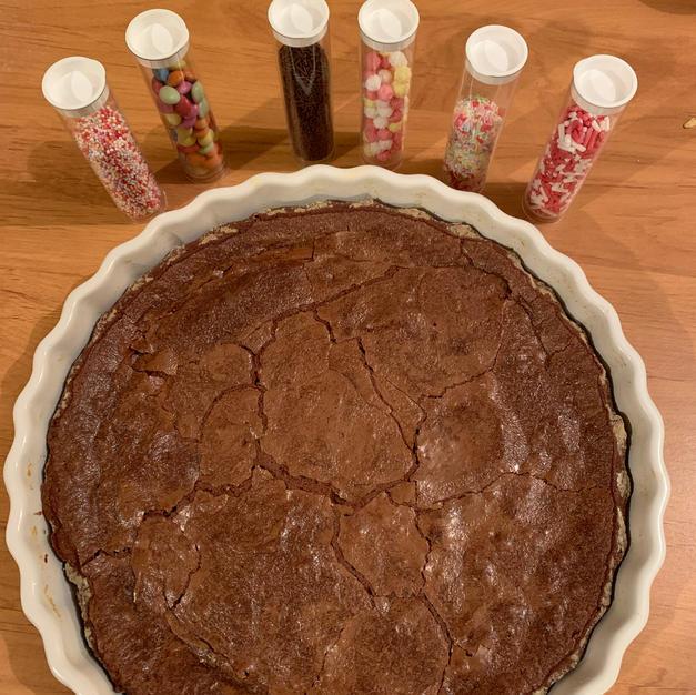 Gâteau fondant chocolat de papinou par tomates cerises siamoises de Bourbon