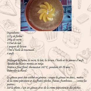 Gâteau Z de mamie Franchesse par les Mirots de Bourbon