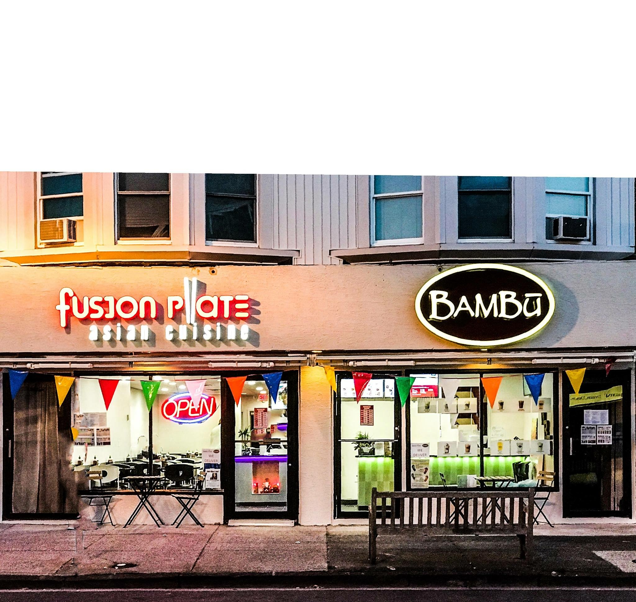 Fusion Plate and Bambu store front