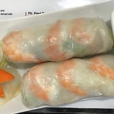 Summer Rolls (2 rolls)