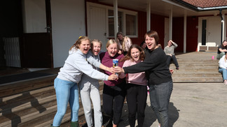Elever på Internatet på KV Vennesla