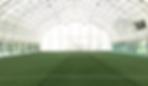футбольное поле закрытый зал