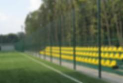 металлическое ограждение для футбольных полей