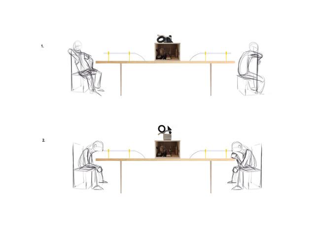 User interaction sketch