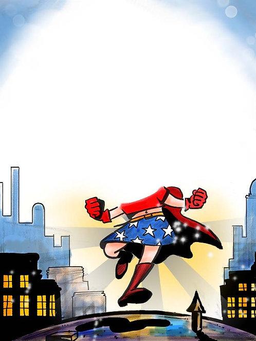 Wonder Girl!