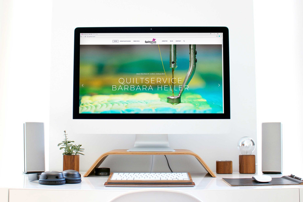 Redesign Webseite Quiltservice