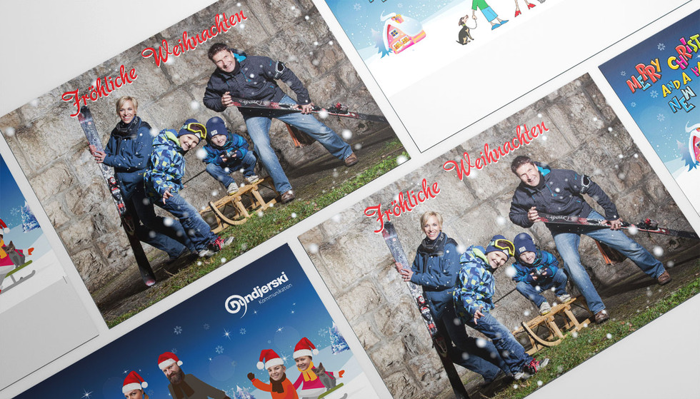 Weihnachtskarte Scherrers