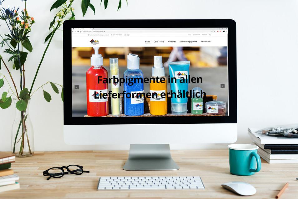 Webdesign Scholz Farbpigmente