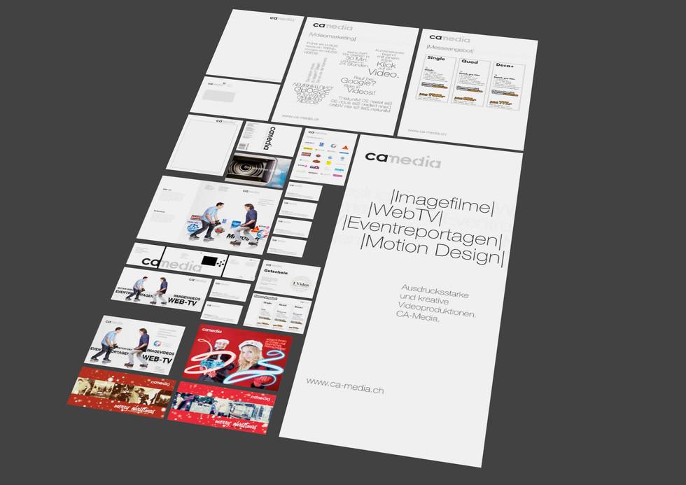 Corporate Design ca-media
