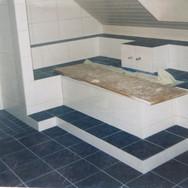 Wandplatten, Bodenplatten Bad
