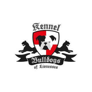 Logo Bulldog of lionesses