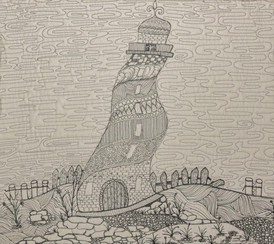 Crooked lighthouse