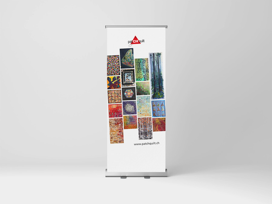 Rollup Display Patchquilt