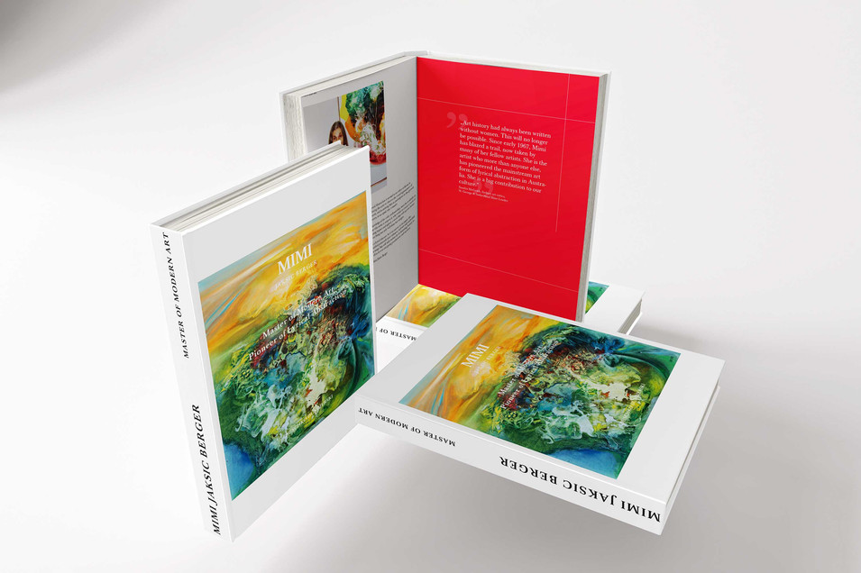 Kunstbuch Mimi Jaksic Berger