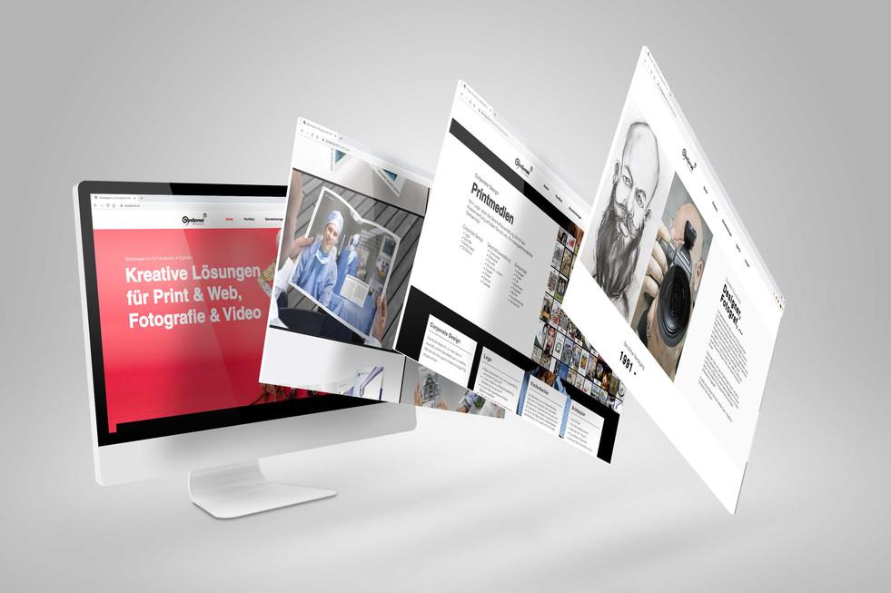 Redesign Webseite Dundjerski Kommunikation