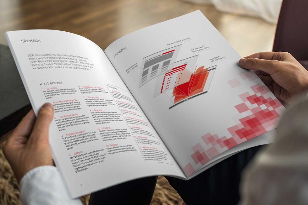 Broschüre PDF Site search