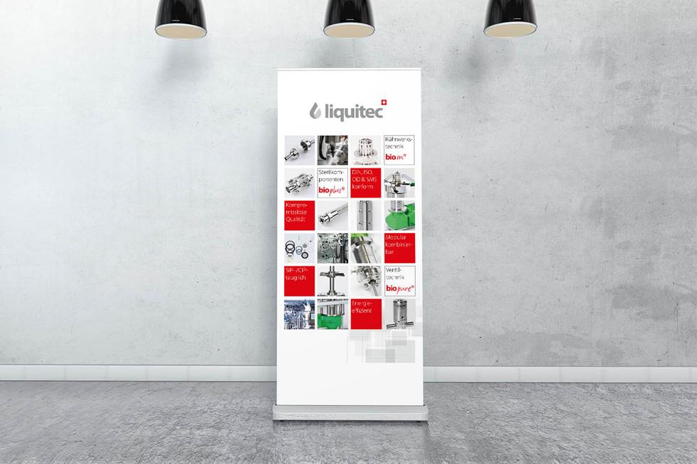 Rollup Display liquitec