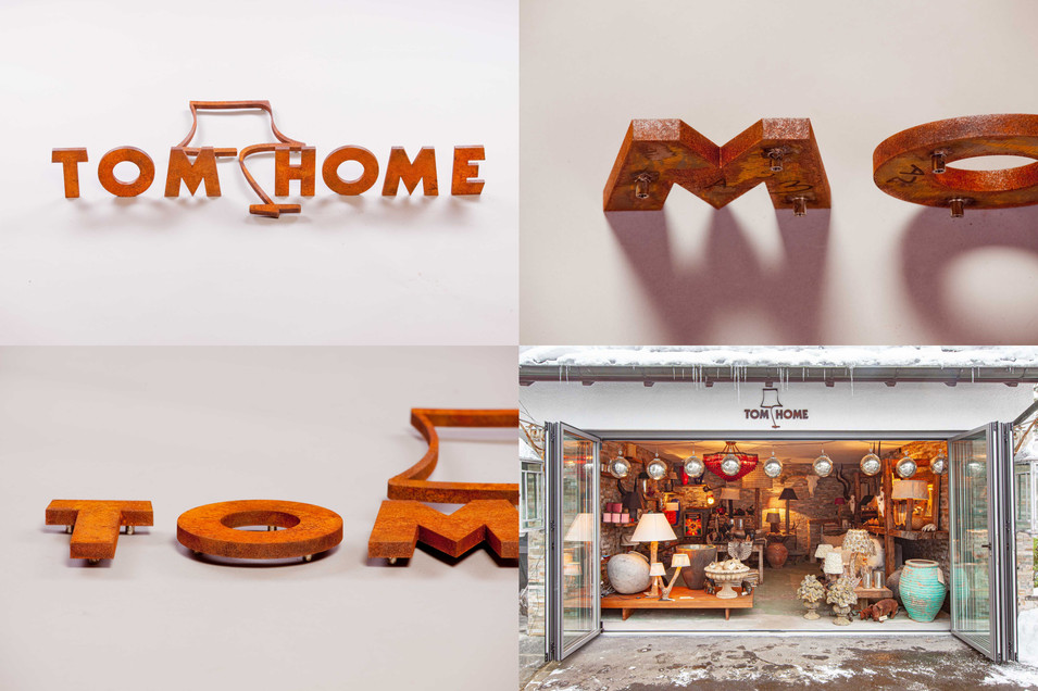 3D Logo Tom Home